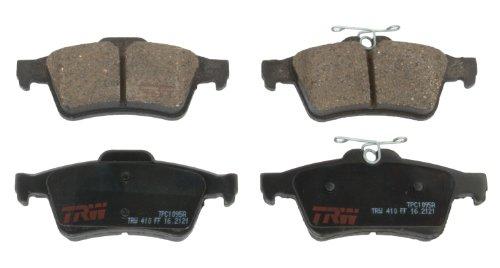 TRW TPC1095A Scheibenbremsbelagsatz, für Mazda 3: 2004 - 2006 und andere Anwendungen, hinten