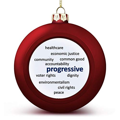 Christmas Ball Ornaments Progressive Philosophy And Values Hanging Ball Decorative For Christmas Trees,Holiday Party