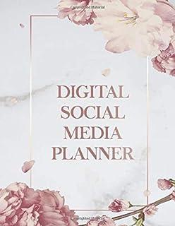Digital Social Media Planner: 52 Weeks Social Media Post Planner, Goals & Content Calendar - Become an Influencer - (Marke...