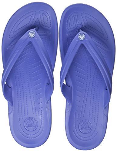 Crocs Unisex-Erwachsene Crocband Flip Zehentrenner, Lapis/Weiß, 39/40 EU