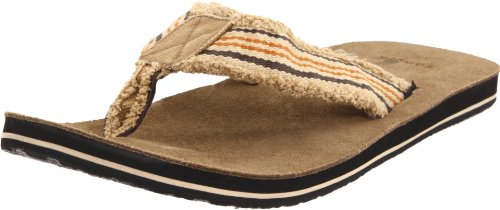 Sanuk Herren Fraid So Zehentrenner, Braun (Rust/Brown), 40.5 EU / 7 UK