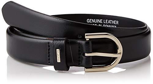 Calvin Klein 2.5cm Feminine Belt Cintura, (Black Bds), 7 (Taglia Produttore: 95) Donna