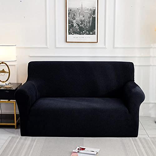 Funda de sofá Jacquard para Sala de Estar, Funda de sofá elástica elástica, Funda seccional para sofá, Protector de Muebles, A2, 1 Plaza