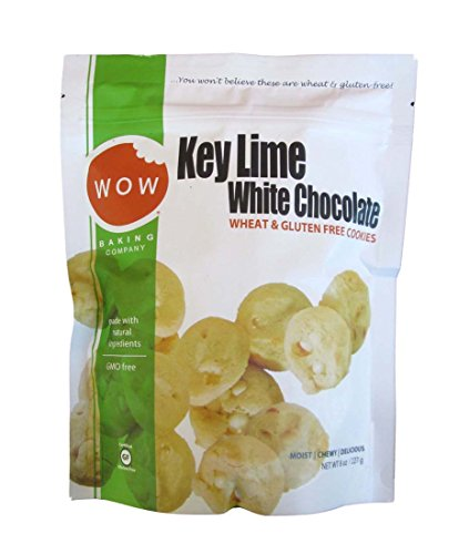 WOW Key Lime White Chocolate Wheat & Gluten Free Cookies (2 Pack)