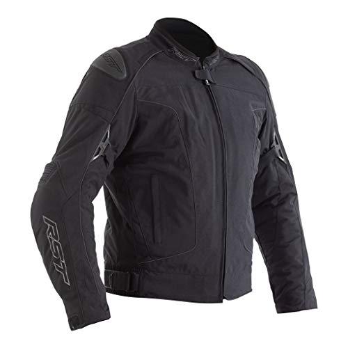 RST GT Airbag CE Herren schwarze Textil Motorradjacke EU60