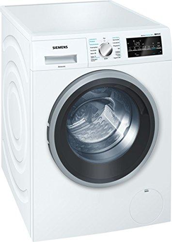 Siemens WD15G442 iQ500 Waschtrockner / A+++ D / 1088 kWh / 81 kg / 8 kg Waschen / 5 kg Trocknen / Großes Display mit Endezeitvorwahl [Altes Modell]