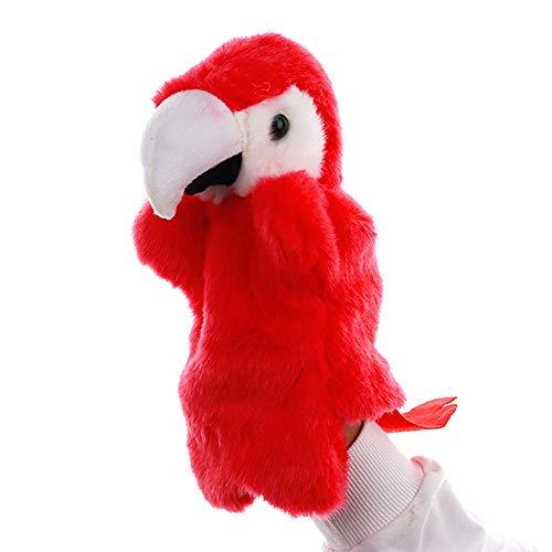 FairOnly Loro Dibujos Animados Marioneta Mano Pájaro