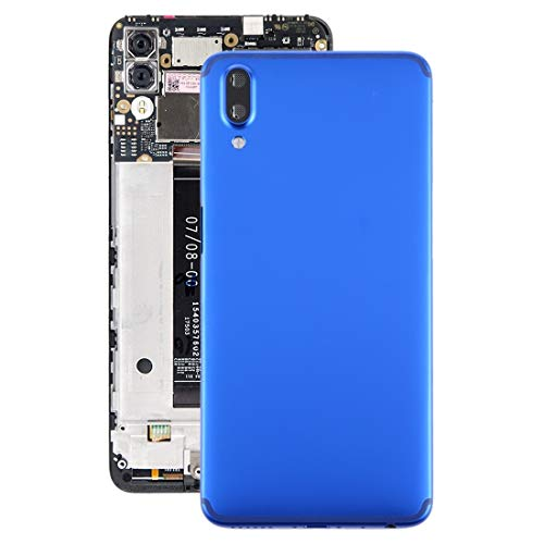 xiaowandou Repair for Your Phone Battery Back Cover with Camera Lens for Meizu E3 Accessory to Renewal (Color : Blue)