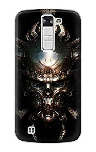 R1027 Hardcore Metal Skull Case Cover For LG K7