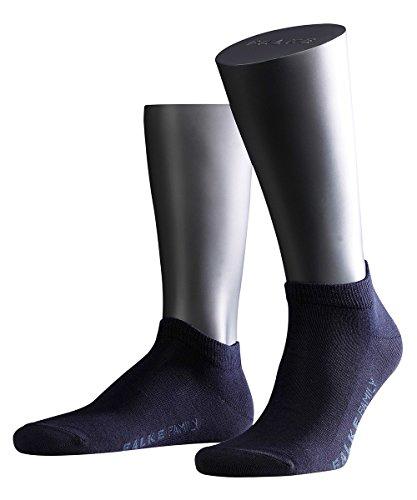 FALKE 3 Paar Socken 14626 Family Sneaker Sommerlicher Kurzstrumpf, Farbe:Dark Navy 6370, Socken & Strümpfe:39-42