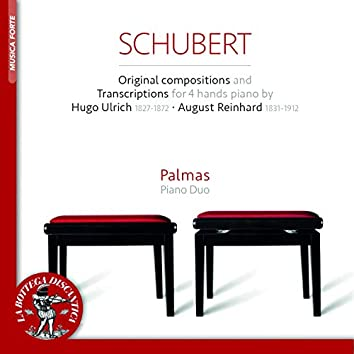 Schubert: Original Compositions and Trascriptions for 4 Hands Piano by Ulrich and Reinhard (Transcr. for 4 Hands Piano)
