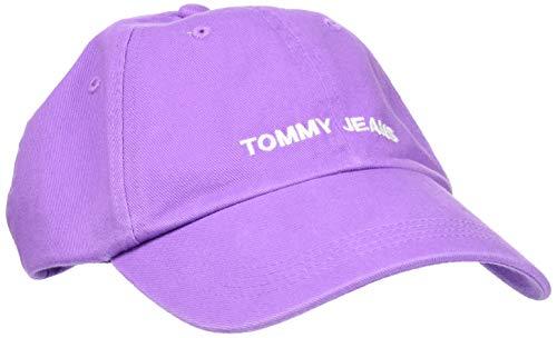 Tommy Hilfiger Tjw Sport Cap Gorra de béisbol, Morado, Talla única (Talla del fabricante:) para Mujer