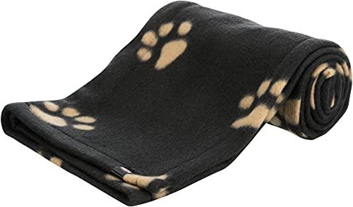 Trixie 37192 Fleecedecke Beany, 100 × 70 cm, schwarz