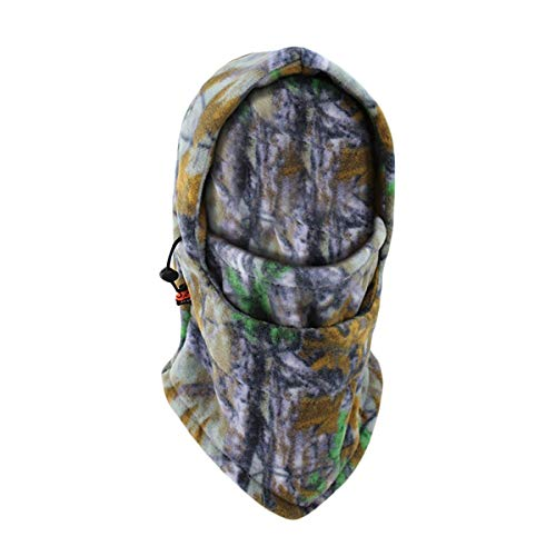 ECYC® Coupe-Vent Camo Cagoule Cagoule Couvre-Cou Thermique Polaire Balaclava Masque Visage, Multi