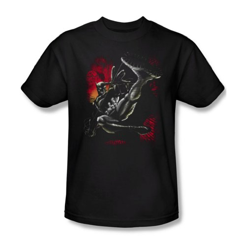Batman - Men Kick Schaukel T-Shirt In Schwarz, XXX-Large, Black
