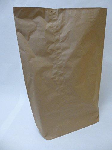 Rodenbacher Papieragentur GmbH 50 St. Papier-Bioabfallsäcke 70l Format 55x85x20 cm Motiv: unbedruckt, 2lagig, mit extra Bodendeckblatt