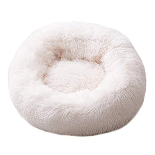 Zacht bed hond wasbaar lange pluche hondenmand Deep Sleep Dog House Velvet Mats Sofa Hondenmand 80 cm K
