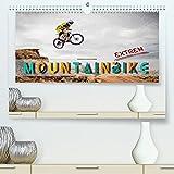 Mountainbike extrem (Premium, hochwertiger DIN A2 Wandkalender 2022, Kunstdruck in Hochglanz)