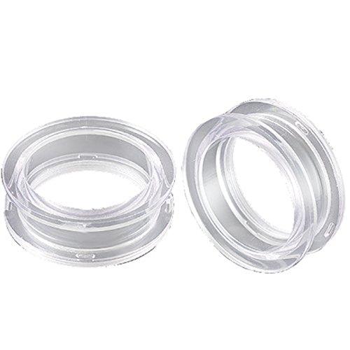 bodyjewelry top tunnel cl acrylic cl 28mm-de