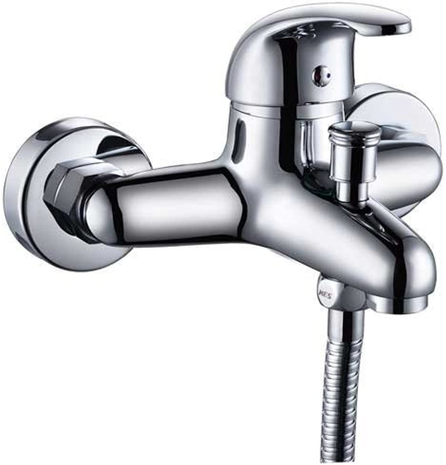 MEILING Full Copper Mixing Valve Shower Triple Bath Faucet Into The Wall