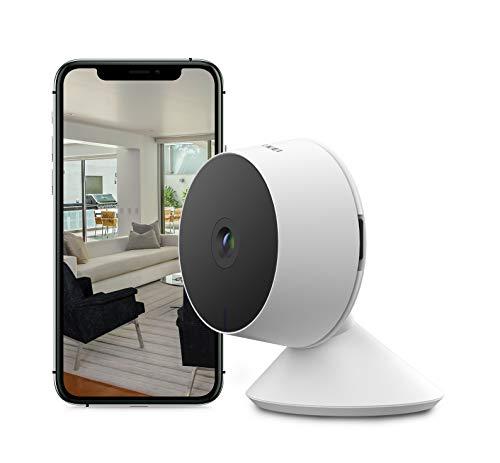 Nikkei CAM2 - Cámara de Seguridad Smart Compacta - Full HD, 1080P - Cámara WiFi fija con Sensores de Movimiento - Nikkei Smart App - 1 Cámara - Blanco