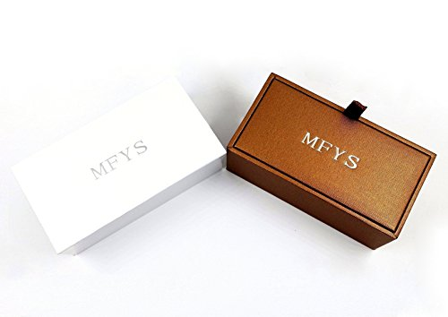 『MFYS Jewelry イギリス 国旗 ファッション メンズ 紳士 カフス (カフスボタン・カフリンクス)【専用収納ケース付き】』のトップ画像