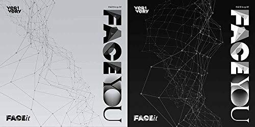 Jellyfish Entertainment VERIVERI - FACE You (4th Mini Album) Album+Folded Poster+Extra Photocards Set (Random ver.)