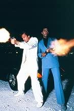 Miami Vice Don Johnson & Thomas Blazing Gunfire Poster