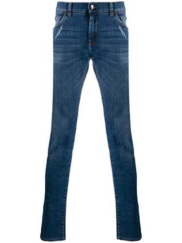 Luxury Fashion | Dolce E Gabbana Heren GY07LDG8BY6S9001 Donkerblauw Katoen Jeans | Lente-zomer 20