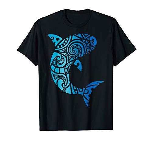 Tribal Hawaii Hai Liebhaber Woche T-Shirt Strand Geschenk T-Shirt