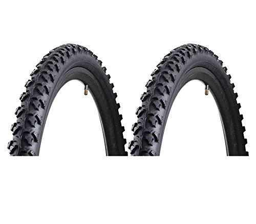 P4B 2 neumáticos de bicicleta MTB / ATB de 26 pulgadas | 26 x 2,10 | 54-559 | para todo terreno y carretera | para bicicleta todoterreno