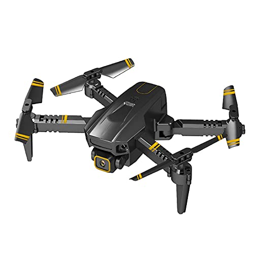 GZTYLQQ Droni con Fotocamera per Adulti 4k, Mini Aereo Senza Pilota Pieghevole, Aereo telecomandato a Lunga Durata, Pressione dell'Aria ad Alta Definizione 4K ad Altezza Fissa Doppia