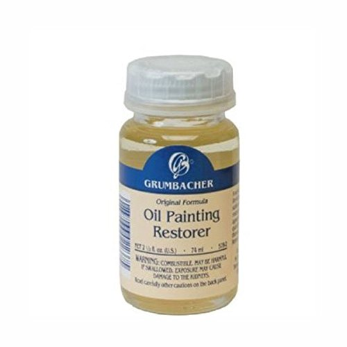 Grumbacher Oil Painting Restorer, 2-1/2 Oz. Jar, #5782