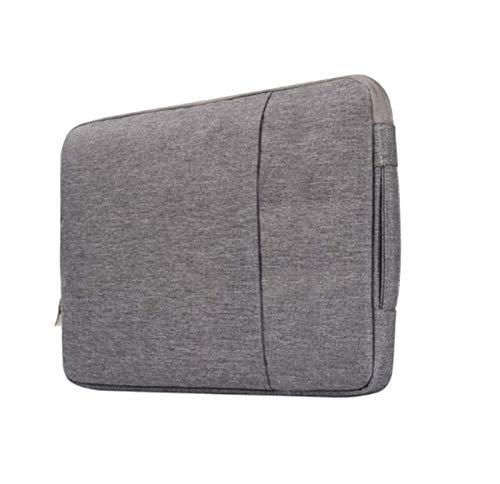 YTG Waterproof laptop bag 11 12 16 13 15 inch mac book computer sleeve socket (Color : Cowboy Gray, Size : For MacBook 11 inch)