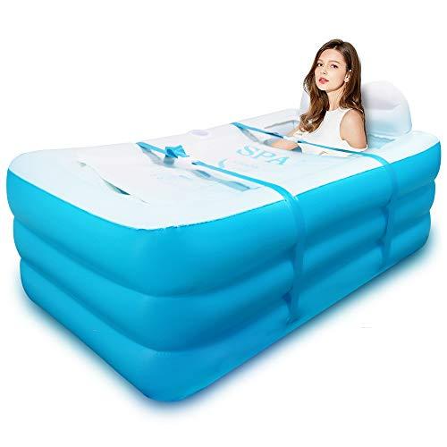 Aufblasbare Badewanne, Erwachsene Faltbare Badewanne, Gute Wärmehaltung, auch als Eisbadewanne Verwendung