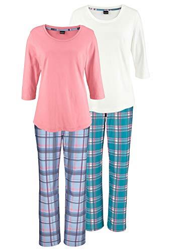 Arizona Damen Pyjama (2 Stück)