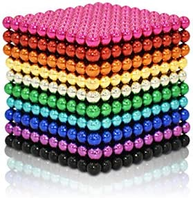 mybrand Sky Magnets 3 mm 1010 Pieces Magnet Ball Cube Fidget Gadget Toys Rare Earth Magnet Office product image