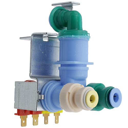 Price comparison product image Supplying Demand W10420083 Refrigerator Water Valve Dual Fits W10420083 & PS11754529