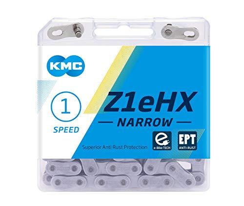 KMC Unisex– Erwachsene Z1eHX Narrow EPT E-Bike 1-Fach Kette 1/2