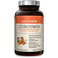 180-Count NatureWise Curcumin Turmeric 2250mg (2 Month Supply)