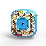 ZUEN Mini Videocamera Giocattolo Fotocamera Digitale Foto Giocattoli per Bambini Regali Educativi per Fototessere Videocamera per Bambini 1080P HD Videoregistratore,Blu