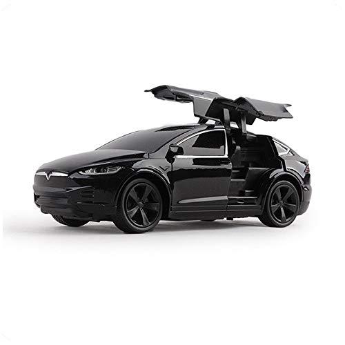 MUMUMI Tesla Coche teledirigido 2.4G RC Drift eléctrico de Alta Velocidad del Coche Deportivo Profesional Recargable Que compite con luz LED Buggy Hobby Juguetes Niños Niñas cumpleaños Regalos de Año