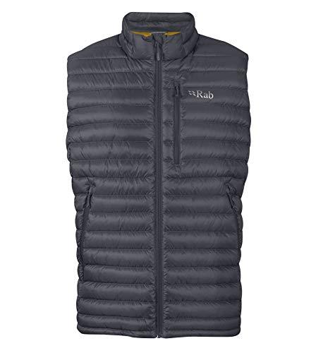 RAB Microlight Vest Herren Beluga-Dijon Größe S 2019 Weste