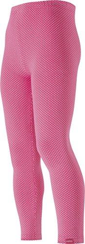 Playshoes Mädchen, Punkten, gepunktet, Oeko-Tex Standard 100 Legging, Rosa (pink 18), (Herstellergröße: 98)
