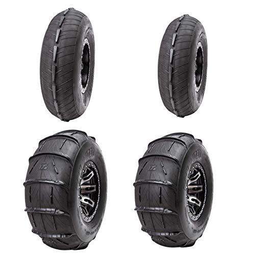"Tusk Sand Lite 32""x15"" Front and Rear UTV Sand Tire Package- 32x10-15, 32x12-15"