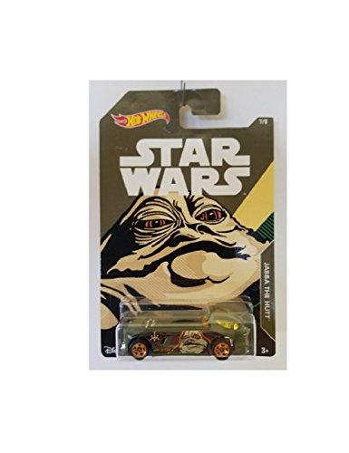 Hot Wheels Star Wars Jabba The Hutt 7/8 of Series Rare
