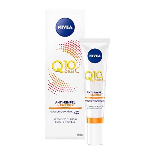 Nivea Q10 Plus Anti-Falten + C Energizing Augencreme Energie, 15 ml