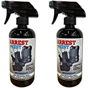 Arrest My Vest Military and Police Grade Odor Eliminating Spray for Body Armor Odor, Tactical Gear. Safe on K9's. Safe on All Ballistic Vests and Fabrics - Midnight Fragrance - 2 16 oz Bottles