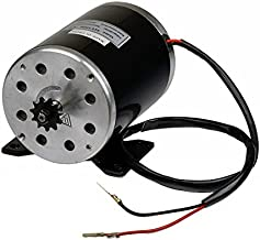 Monster Motion 36 Volt 1000 Watt MY1020 Electric Motor with 11 Tooth 8 mm 05T Chain Sprocket & Bracket