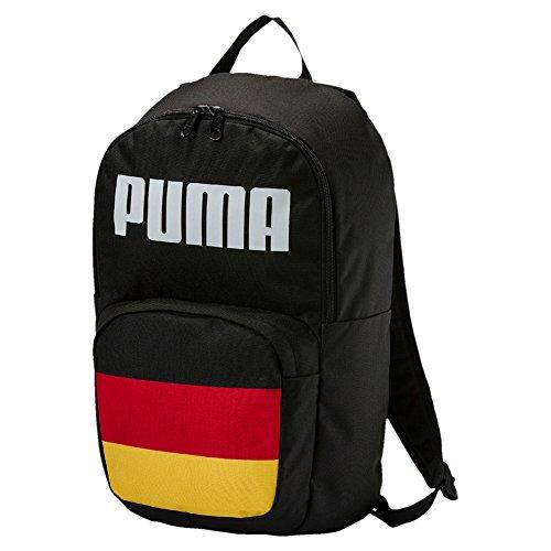 Puma World Cup - Mochila para abanicos sin licencia (Alemania), color negro